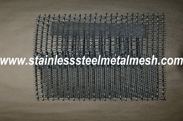 BWG10 (3.25mm Wire Dia.) Crimped Wire Mesh Aperture Size 25mm