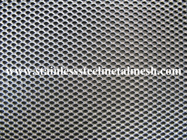 Micro hole expanded metal mesh