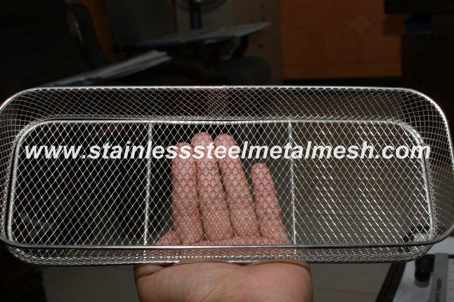 Filter Basket Made of Expaned Metal Mesh