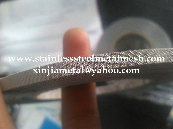 Stainless Steel Wire Mesh Strip